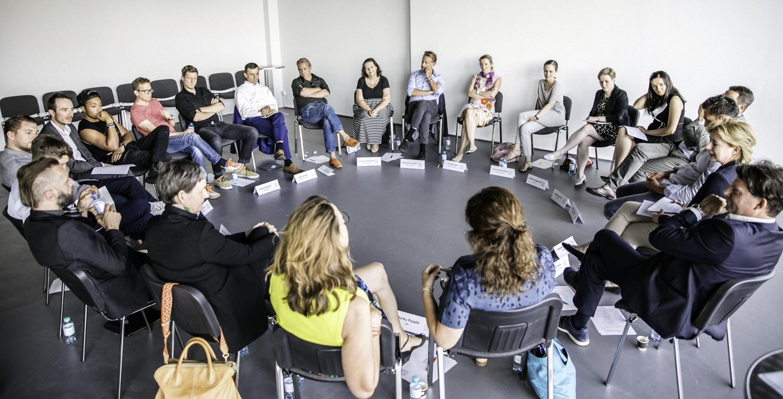 UNTEN Roundtable, 18.7.2017, Digital Hub Vienna