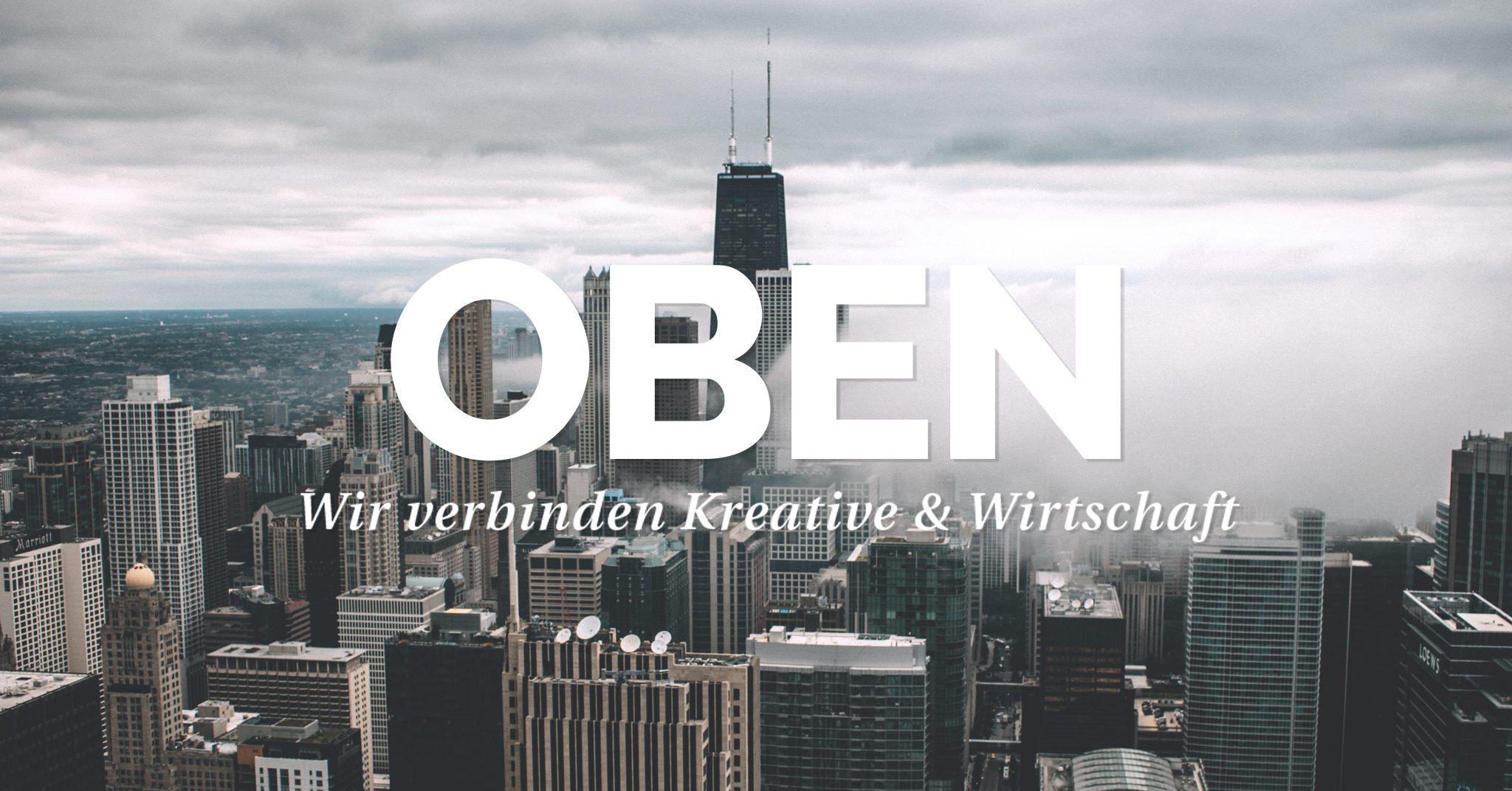OBEN - wir verbinden Kreative & Wirtschaft, Afterwork