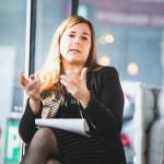 Julia Ortner - UNTEN Round Table, 05.09.2017. Digital Hub Vienna/Zytka