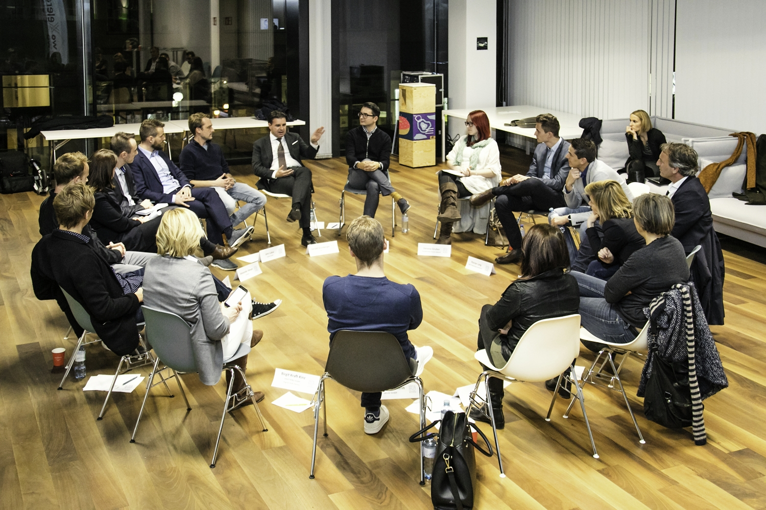 UNTEN Roundtable No3, 14.11.2017, weXelerate. Copyright: Digital Hub Vienna/Hron.